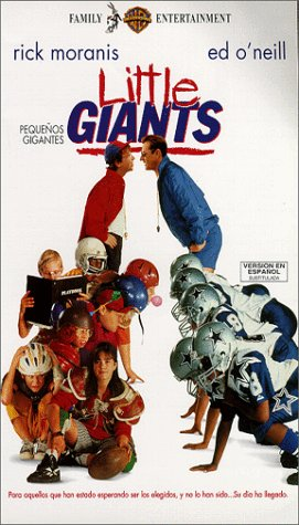 9786303338668: Pequenos Gigantes (Little Giants) [VHS]