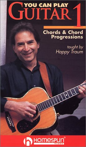 9786303343266: You Can Play Guitar 1: Chords & Chord Progressions [VHS]