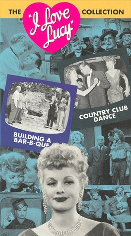 9786303365046: I Love Lucy - Building a Bar-B-Que & Country Club Dance [VHS]
