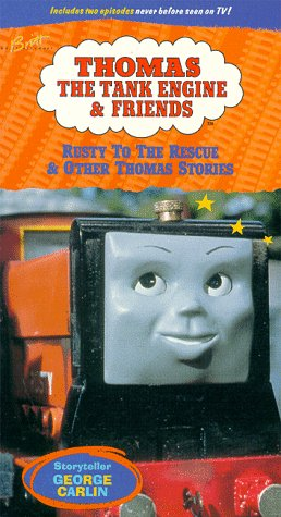 9786303387833: Thomas the Tank Engine & Friends: Rusty to the Rescue [VHS]
