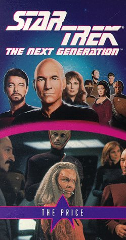 9786303389318: Star Trek - The Next Generation, Episode 56: The Price [VHS]