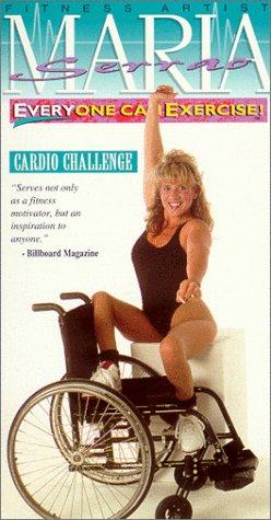 9786303391533: MARIA SERRAO: Everyone Can Exercise - Cardio Challenge [VHS]