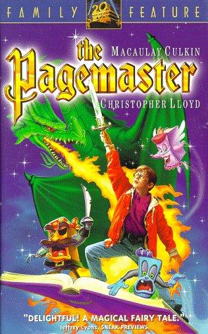 9786303394343: The Pagemaster [USA] [VHS]