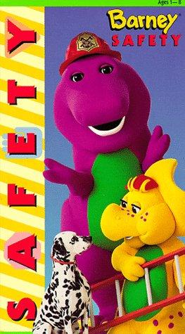 9786303403328: Barney: Safety [VHS]