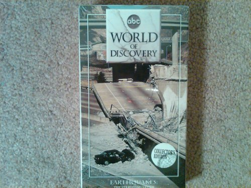 9786303406565: ABC World of Discovery: Earthquakes-The Terrifying Truth [VHS]
