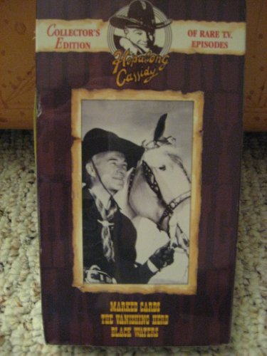 9786303413914: Hopalong Cassidy: Marked Cards, Vanishing Herd and Black Waters [VHS]