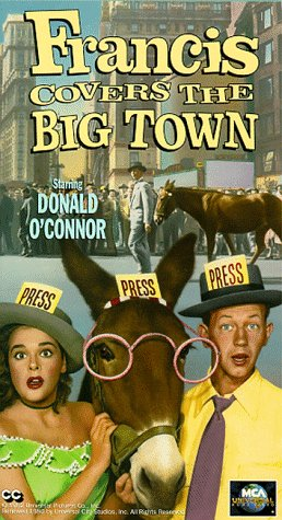 9786303431505: Francis Covers the Big Town [VHS]