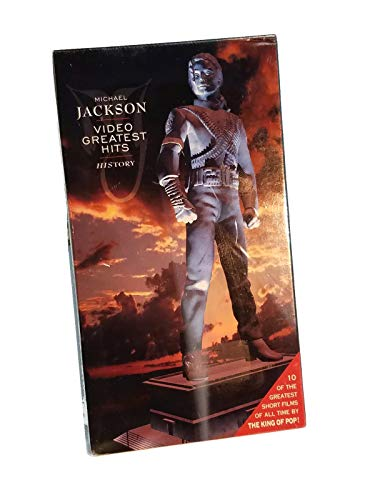 9786303459769: Michael Jackson: HIStory: Video Greatest Hits [VHS]