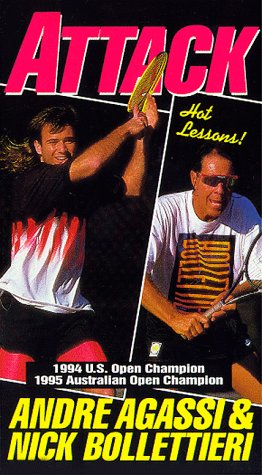 9786303466101: Andre Agassi: Attack [VHS]