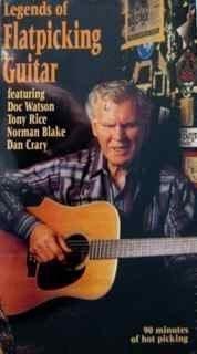 9786303477169: Legends of Flatpicking Guitar [VHS]