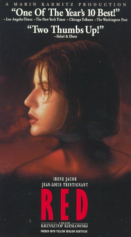 9786303486765: Three Colors: Red [USA] [VHS]