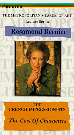9786303494494: Metropolitan Museum of Art Lecture Series Rosamond Bernier: French Impressionists - The Cast of Characters [VHS]