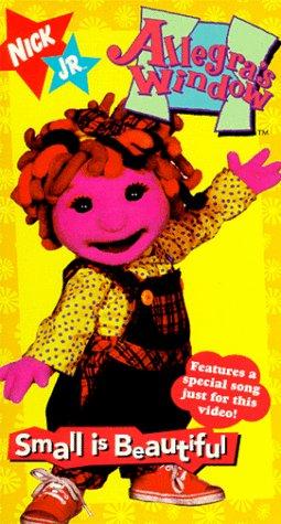 9786303499109: Allegra's Window:Small Is Beautiful [VHS]