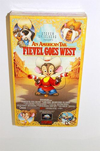9786303506319: American Tail:Fievel Goes West [VHS]