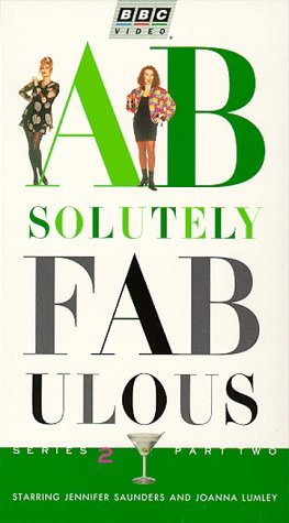 9786303521350: Absolutely Fabulous - Series 2 Part 2 [VHS]