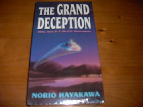 9786303542058: Grand Deception: UFOs, Area 51 & the U.S. Government [VHS]