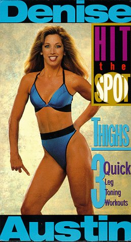 9786303553863: Hit the Spot-Thighs [VHS]