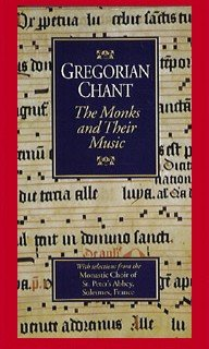 9786303558936: Gregorian Chant:Monks and Their Music [VHS]