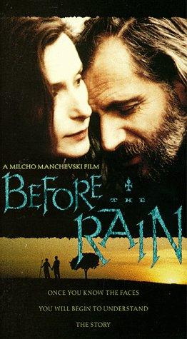 9786303571638: Before the Rain [USA] [VHS]