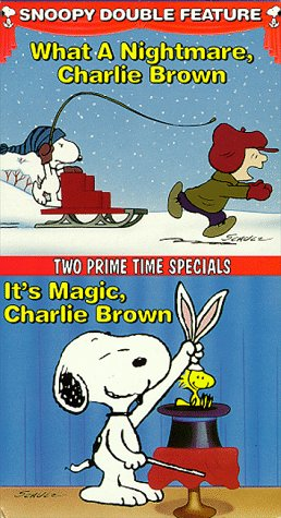 9786303574219: Snoopy Double Feature Vol. 6 (What a Nightmare/It's Magic) [VHS]