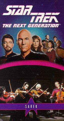 9786303574257: Star Trek - The Next Generation, Episode 71: Sarek [VHS]
