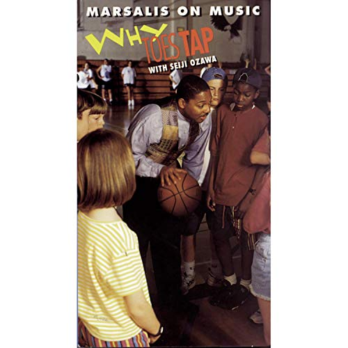 9786303589039: Why Toes Tap With Seiji Ozawa (Wynton Marsalis On Music Series) [VHS]