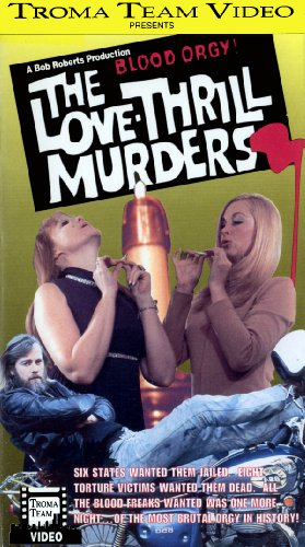 9786303592541: The Love Thrill Murders [VHS]
