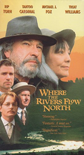 9786303640563: Where the River Flows North [VHS]