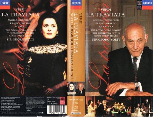 9786303654416: Verdi: La Traviata [VHS]