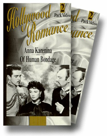 9786303698427: Hollywood Romance: Anna Karenina- Of Human Bondage [VHS]