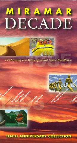 9786303854908: Miramar Decade:10th Anniversay Collec [VHS]