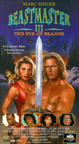 9786303890388: Beastmaster III: The Eye of Braxus [VHS]