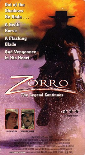 9786303893877: Zorro the Legend Continues [VHS]
