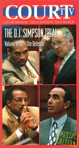 9786303907512: Court TV- The O.J. Simpson Trial- Volume Three- The Defense [VHS]