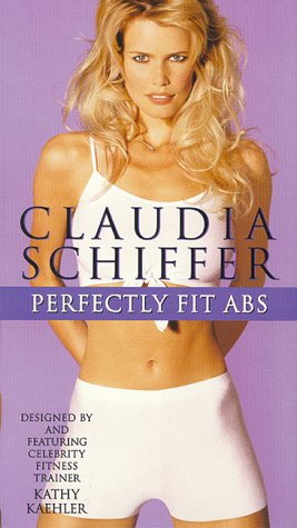 9786303912707: Claudia Schiffer: Perfectly Fit Abs [VHS]