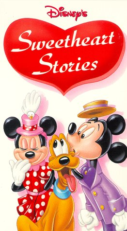 9786303921129: Disney's Sweetheart Stories [VHS]