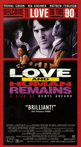9786303922485: Love & Human Remains [VHS] [Import USA]