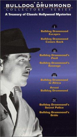 9786303923765: The Bulldog Drummond Collectors' Series [VHS]