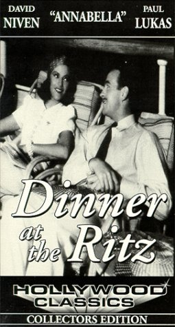9786303935133: Dinner at the Ritz [VHS]