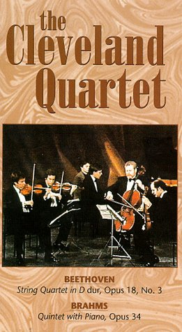 9786303955759: Cleveland Quartet [VHS] [Import USA]