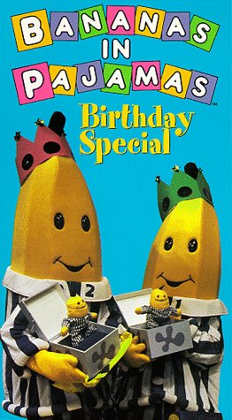 9786303966274: Bananas in Pajamas:Birthday Special [VHS]