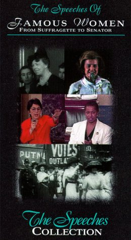 9786303973234: Speeches of Famous Women: Suffragette to Senator [VHS] [Import USA]
