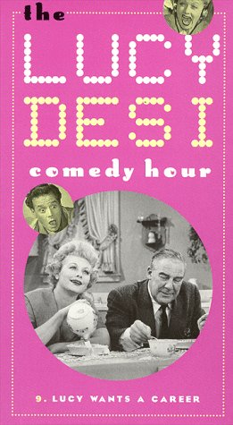 9786303980683: The Lucy & Desi Comedy Hour, Vol. 9: Lucy Wants a Career [VHS]