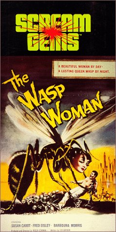 9786303998657: The Wasp Woman [VHS]