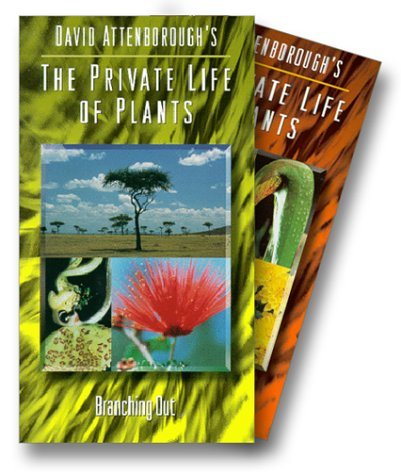 9786304030851: David Attenborough's Private Life of Plants: A Dazzling Kaleidoscope of the Essence of Life on Earth (Six VHS Tape Set)