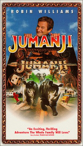 9786304030981: Jumanji [VHS]