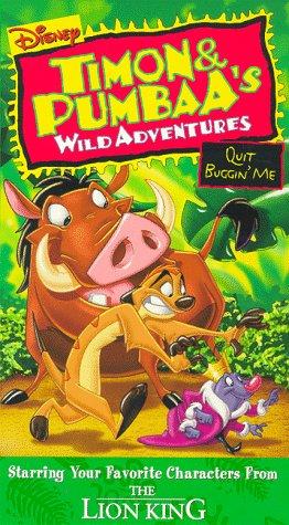 9786304032152: Timon & Pumbaa: Quit Buggin Me [VHS]