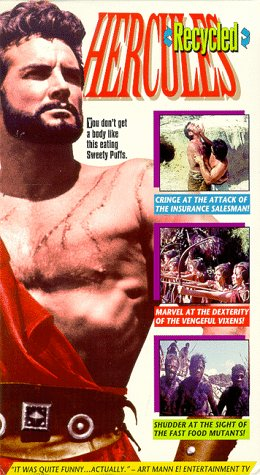 9786304042410: Hercules Recycled [VHS]