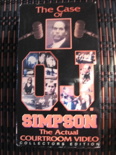 9786304043530: Case of O.J. Simpson [VHS]