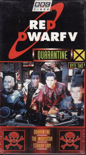 9786304052983: RED DWARF, Series V, Byte Two ~ 1992 Programs (Quarantine / The Inquisitor / Terrorform) [VHS]
